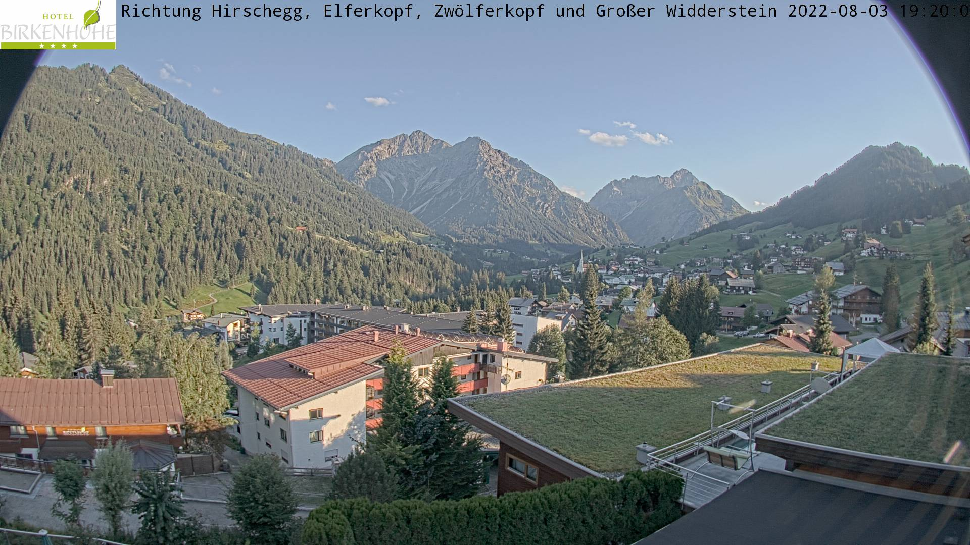 Webcam-Bild: Webcam - Hotel Birkenhöhe