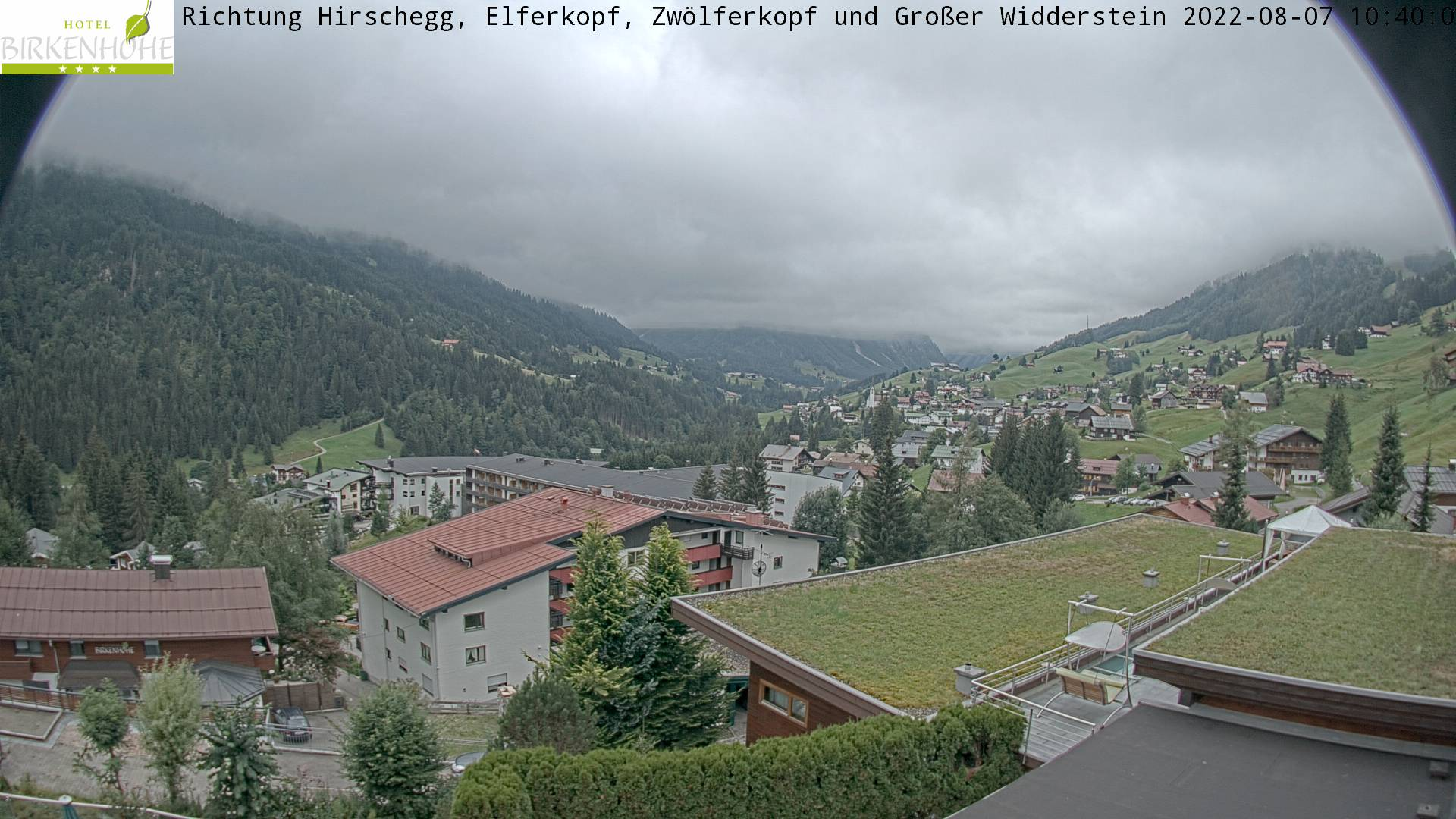 Webcam Hotel Birkenhöhe